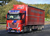 Stuart Nicol Transport Mercedes Actros N10SNT on the A90, Dundee, 30/9/17 (andyflyer) Tags: stuartnicoltransport snt mercedesactros actros n10snt lorry truck hgv transport roadtransport haulage
