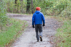 november 2017 (timp37) Tags: november 2017 illinois little red schoolhouse man walking path