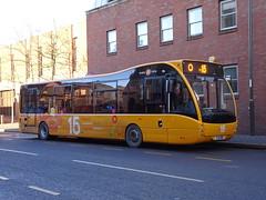trent barton 809 Ilkeston (Guy Arab UF) Tags: trent barton 809 yj11eno optare versa v1110 branded my15 bus ilkeston market place derbyshire wellglade buses wellgladegroup