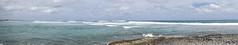2017-04-18_13-39-09 Orient Bay (canavart) Tags: sxm stmartin stmaarten orientbay fwi caribbean ocean beach waves breakers panorama