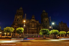 streaking through the metropolitan cathedral in mexico city (Rex Montalban Photography) Tags: rexmontalbanphotography mexicocity mexico zocalo night