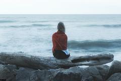 """World's calling me"" - Hokitika - New Zeland (TLMELO) Tags: sunset newzeland novazelandia hokitika praia beach susnset oceano pacífico pacific ocean"