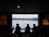 Fotografiska Restaurant (slavamanc) Tags: restaurant stockholm fotografiska dark shadow window sea view gallerybar wintermorning