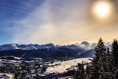 Tatry/Tatra mountains (bmarcin94) Tags: tatry mountains góry landscape krajobraz poronin sunny winter zakopane photography eos200d zima tatramountains sky