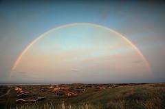 Regenbogen über´m Ringkøbing Fjord (D. W.) Tags: regenbogen rainbow dänemark hvidesande jütland ringkobingfjord sommer regen ringkøbing tingodden årgab