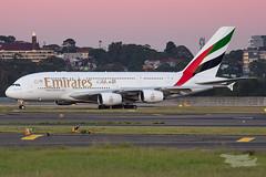 A6-EDN EK A380 34L YSSY-3161 (A u s s i e P o m m) Tags: mascot newsouthwales australia au emirates ek airbus a380 syd yssy sydneyairport sunrise