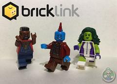 BrickLink Loot Part 2! (Luigi Fan) Tags: bricklink lego minifigures yondu mr t ba baracus she hulk marvel comics