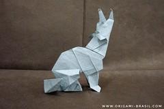 23/365 Coyote by Roman Diaz (origami_artist_diego) Tags: origami origamichallenge 365days 365origamichallenge coyote romandiaz