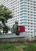 Woman selling ice cream having a rest, Pyongan Province, Pyongyang, North Korea (Eric Lafforgue) Tags: adult adultsonly asia business colourimage day dictatorship dprk eti6161 foodanddrink icecream northkorea oneperson onewomanonly outdoors people pyongyang seller street vertical woman women pyonganprovince 北朝鮮 북한 朝鮮民主主義人民共和国 조선 coreadelnorte coréedunord coréiadonorte coreiadonorte 조선민주주의인민공화국 เกาหลีเหนือ קוריאההצפונית koreapółnocna koreautara kuzeykore nordkorea північнакорея севернакореја севернакорея severníkorea βόρειακορέα