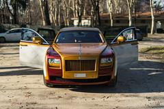 Rolls-Royce Ghost by Garage Italia Customs (lu_ro) Tags: rollsroyce ghost by garage italia customs milan milano italy sony a7 50mm samyang luxury expensive