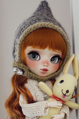 Charlotte *for Aideen* (-Poison Girl-) Tags: pullip pullips doll dolls custom customs 2018 charlotte poisongirlsdolls poisongirldolls poisongirl poison girl redhead ginger hair wig long wavy waves fringe bangs orange eyes eyechips green realistic handmade handpainted repaint repainted paint makeup faceup sweet cute natural kawaii japan collector obitsu body 27cm white skin skintone freckles pecas eyebrows eyeshadow eyelashes nose carving carved mouth lips junplanning jun planning groove grooveinc
