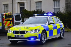 LJ17 AOG (S11 AUN) Tags: northumbria police bmw 330d 3series xdrive estate touring anpr traffic supervision supervisor car roads policing unit rpu motor patrols 999 emergency vehicle lj17aog