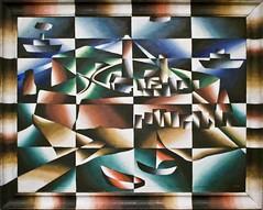 Helgoland (@WineAlchemy1) Tags: helgoland painting arthursegal art expressionism cubism futurism dada colours altejakobstrase artgallery modernart berlinischegallery berlin germany kreuzberg sailing islands sea lighthouse ship boat