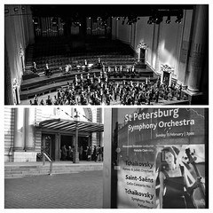 On This Day: 15 February 2015 (FotoFling Scotland) Tags: collage edinburgh usherhall stpetersburgsymphonyorchestra concert orchestra