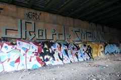 droid smells mire arbor (Luna Park) Tags: ny nyc newyork brooklyn graffiti trackside lunapark droid smells mire arbor rollers 907 907crew