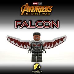 Falcon [MCU] [Infinity War]