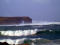 Waves (stuartcroy) Tags: orkney island water waves scotland sea sony scenery sky stone weather white winter
