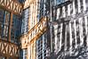 Shadow-timbered (TablinumCarlson) Tags: france summicron 50mm m8 leica m seinemaritime frankreich channel ärmelkanal north normandie upper normandy pays rouen europa europe fassade fachwerk fachwerkhaus timber timberframed halftimbered schatten shadow tree baum äste ast licht light umbrage window fenster postandbeam