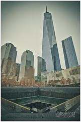 New York - 9/11 memorial (Bob Geilings) Tags: groundzero memorial 911 newyork skyline freedomtower manhattan