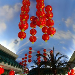 Happy Lunar New Year - Year of the Dog! (Trinimusic2008 - stay blessed) Tags: trinimusic2008 judymeikle urban restaurant happylunarnewyear happychinesenewyear today decorations indoors red ontario canada