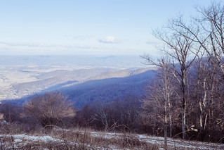 Winter View to Shenandoah Valley