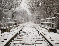 P1148627 (Dreamaxjoe) Tags: snow winter hó budapest vasút railway outofservicerailroadtrack