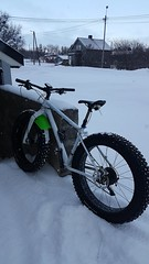 Hope to be back on trails tmrw:-) (GeirB,) Tags: gekkobikes uteliv fatbike sykling fun playtime finnmark vadsø