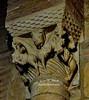 564 – Capitel Fieras - Monasterio San Pedro de las Dueñas (León) - Spain. (ELCABALLOALVARO) Tags: capitel capital fieras monasterio pedro dueñas leon león spain monastery sanpedrodeladueñas romanico roman romanesque elcaballoalvaro isidoro escultura sculpture taller workshop basilica catedral cathedral bestiario bestiary leones lions monstruos monsters dragones dragons aves birds humanos humans castigos suffering evil mal piedra stone joya iglesia church sahagun animal animales cantería canteria sahagún