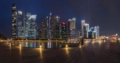 Singapore Skyline (sr.chandrasekar) Tags: nikond750 tamron1530 singapore cbd nightphotography luminous skyline longexposure