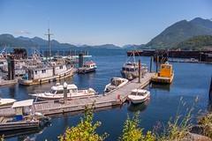 Sayward Wharf (MIKOFOX ⌘ Thanks 4 Your Faves!) Tags: canada wharf strait xt2 learnfromexif july landscape provia fujifilmxt2 harbour mikofox showyourexif boats xf18135mmf3556rlmoiswr