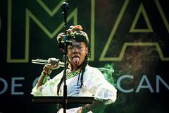 La Dame Blanche (Lunasanz) Tags: cantante cubana womad las palmas hiphop marcha sensualidad paris canarias grande