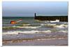 Drowning guitar (IBU-TT.1) Tags: manipulation admiraspanishguitar northsea noordzee sea zee belgium belgië coast kust beach strand