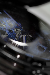 montre (pj lens) Tags: 105mm sigma canon 550d macro engrenage montre gousset or bronze noir blanc bleu heure horloge chaine aiguille tictac tic tac temps modern time
