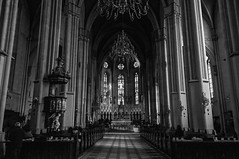 Zagreb Cathedral, Croatia (Black and White) (takasphoto.com) Tags: architecturalphotography architecture architekturfotografie bw balkans blackwhite blackandwhite blancoynegro building catedral cathedral catholic catholicchurch centraleurope church color croatia dx edificiosreligiosos europe europecentrale gothic houseofworship kitlens lens mitteleuropa monochrome nave nikkor nikkor1855mmf3556gafsdxvrlens nikon nikon1855mmf3556gafsdxvrnikkorzoomlens noiretblanc ortaavrupa placeofworship religious religiousbuilding schwarzweisfotografie structure worship zagreb édificereligieux архитектурнаяфотография культовыесооружения центральнаяевропа מבנידת مباندينية ゴシック ザグレブ ニッコール バルカン半島 モノクロ モノクローム 中央ヨーロッパ 中欧 単彩画 単色 宗教施設 建築 建築写真 教会 白黒 白黒写真 萨格勒布 薩格勒布 身廊 黑白 건축사진 cityofzagreb hr