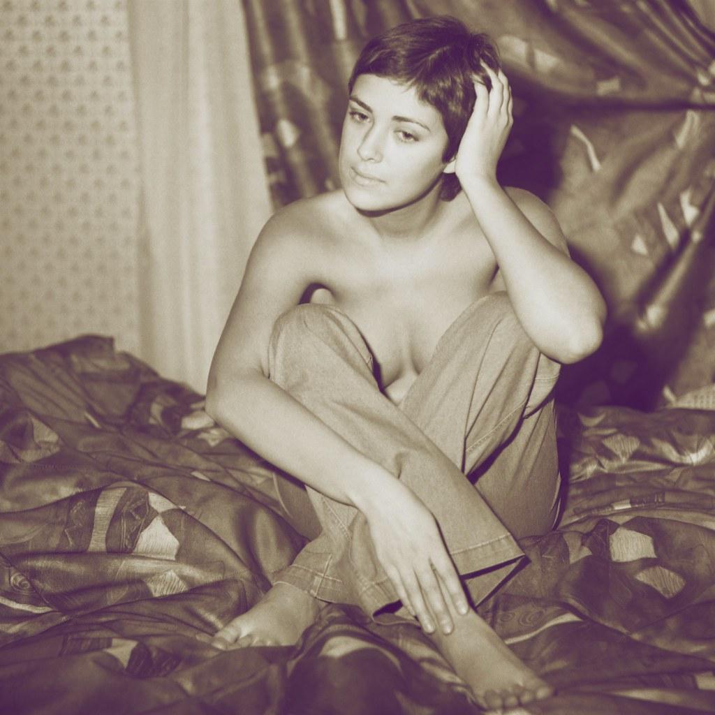 Vintage topless jeans