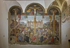 Kreuzigung / Crucifixion (schreibtnix on 'n off) Tags: reisen travelling italien italy mailand milan kunst art kirche church santamariadellegrazie fresken frescoes kreuzigung crucifixion olympuse5 schreibtnix