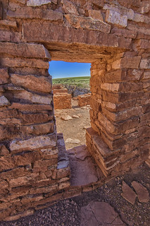 Lomaki Pueblo in Wupatki National Monument