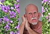 Kees # 21 Spring (just.Luc) Tags: man male homme hombre uomo mann mature goatee beard baard barba bart barbe flowers bloemen fleurs blumen lavende lavendel lavender purple paars mauve portret portrait ritratto retrato face gezicht visage gesicht nederland paysbas niederlande netherlands gelderland dieren spring lente printemps frühling gay holland porträt