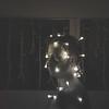 The Thought (dgo.splvd) Tags: portrait conceptualphotography christmaslights blakandwhite retrato luces