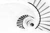 Spiral Bound (Sean Batten) Tags: ofxord england uk blavatnikschoolofgovernment building spiral stairs staircase city urban nikon d800 1424 blackandwhite bw highkey lines curves steps down downward