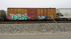 IMG_1418 (jumpsoner) Tags: traingraffiti trains traingraff trainspotting tracksides benching benchingsteel benchingtrains bencher boxcars benchingfreights bgsk benchinhsteel railroadphotography railroad railfan graffiti graffculture freights freightculture freightgraffiti foamer foamers freghtculture