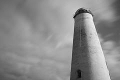 Leasowe Lighthouse (36/365) (Rachael Webster UK) Tags: lighthouse blackandwhite longexposure longexposurephotography wirral project365 365project 365challenge