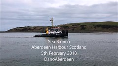 Sea Bronco - Aberdeen Harbour Scotland - 5/2/2018 (DanoAberdeen) Tags: danophotography dano autumn amateur aberdeencity abdn aberdeen harbour aberdeenharbour 2018 iphone iphone7plus iphoneography mpeg video 4k northsea northseasupplyships northseasupplyvessels northeastsupplyships northeastsupplyvessels cargoships tugboat tug oilships oilrigs offshore summer supplyships psv gb uk shipspotters shipspotting ships vessels abz grampian water wasser winter workboats seafarers seaport seascape aberdeenscotland aberdeenunionstreet maritime pocraquay seabronco seacontractors oilandgas