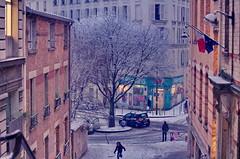 07 Paris en Février 2018 - sous la neige Place Henri Krasucki (paspog) Tags: paris france belleville janvier januar january 2018 neige snow schnee placehenrikrasucki
