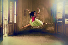 Wendy 5 (Artypixall) Tags: cuba havana ballerina youngwoman posing dancing interior mansion
