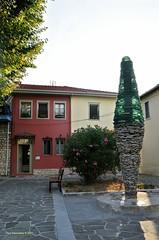 The cypress (Chris Maroulakis) Tags: ioannina castle cypress varotsos sculptor matsas square sunset house nikond7000 chris maroulakis 2017