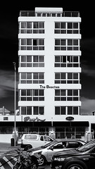 The Beaches (Steve Crane) Tags: beachroad helderberg southafrica strand westerncape apartment building restaurant street capetown za