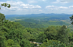 Virginia Blue Ridge Mountains (craigsanders429) Tags: virginia blueridgemountains mountains cloudsandsky clouds cloudsandmountains trees overlook