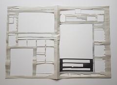 space around news I (Ines Seidel) Tags: space empty room news newspaper zeitung remove zeitungspapier nachrichten ausschneiden cut raum leere freiraum papier paper berlinermorgenpost