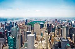 Desde el Empire State Building (pablocba) Tags: cityscape landscape nueva york new manhattan central park empire state building nikon d5100 ciudad city usa united states estados unidos 102nd floor observatory 102